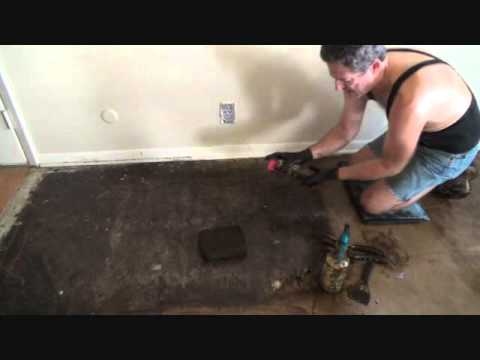 Removing black tar mastic with WD40