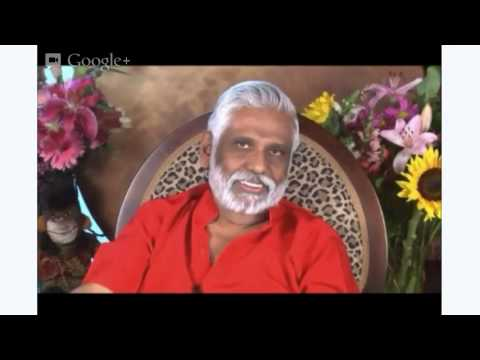Vedic New Year 2013 Message: Dr. Pillai's Hangout Recorded Live April 14th - Moola Mantra Initiation