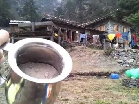 Using wood ash in Nepal to create lye or KOH (potassium hydroxide) 1
