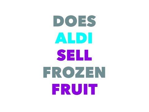 Does aldi sell frozen fruit like strawberries
