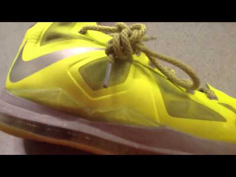How to clean your LeBron X/Basketball shoe