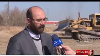 Iran Clearing the river bed, Isfahan Zayandehrud river پاكسازي بستر رودخانه زاينده رود اصفهان ايران