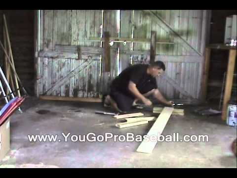 Building My Pitcher's Balance Beam Board