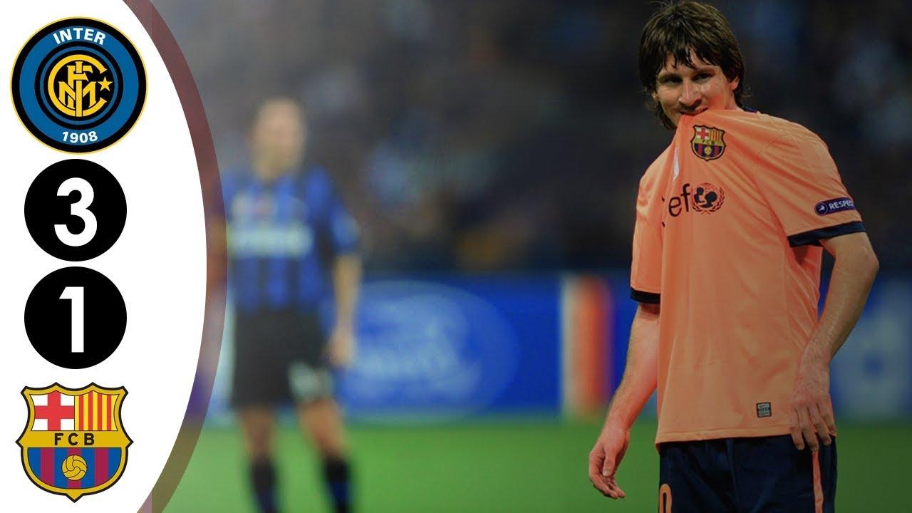 Inter milan vs Barcelona Ucl 3-1 2009/2010 Full Highlights HD