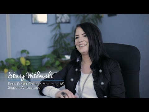 Penn Foster College Student Stories: Stacey Witkowski - Marketing Associate Degree