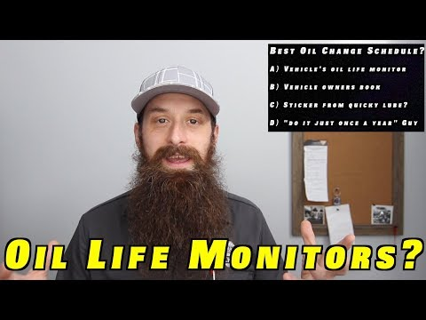 Should You Trust Oil Life Monitors or Follow the Owners Book?