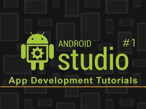 Android Studio App Development | First App Project | Part 1