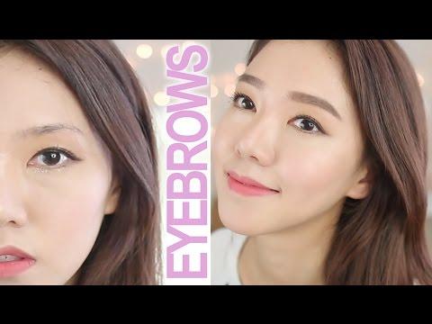 EYEBROW TUTORIAL 2016 | 엔젤의 눈썹 그리는법~!