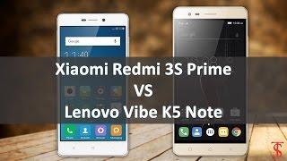 Xiaomi Redmi 3S Prime vs Lenovo Vibe K5 Note! Quick Comparison