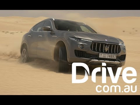 2017 Maserati Levante S Takes On The Arabian Sand Dunes | Drive.com.au