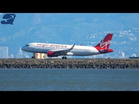 (4K) 35+ Minutes of Plane Spotting - San Francisco International Airport (KSFO)