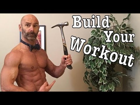 Design your own home, Full body, body weight, workout. How to figure out reps, sets and progression