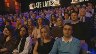 Nigel Farage being brilliant on The Late Late Show