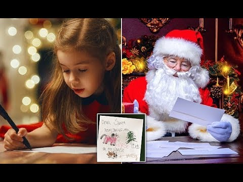 Technology helps kids send letters to Santa get a response
