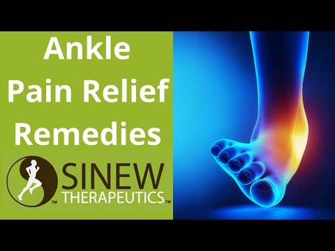 Ankle Pain Relief Remedies