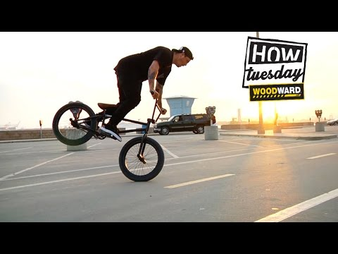 Ride BMX - How to: G-Turn With Caleb Quanbeck