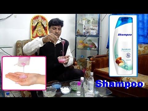 Shampoo making commercial recipes  How to make Shampoo. Shampoo making Easy and Quick Way.
