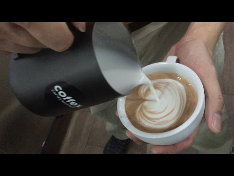 How to do a Heart on Hot Chocolate (Latte Art)