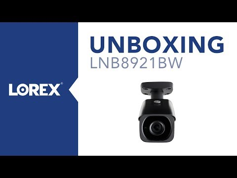Unboxing the LNB8921BW Nocturnal Security Camera