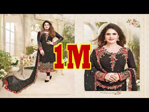 Latest Indian Dresses Collections 2017 || Avon Trendz Ltd || Zarine Khan 2