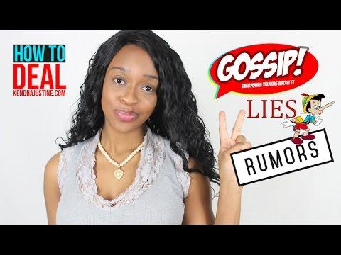 How to Handle Gossip, Lies & Rumors!