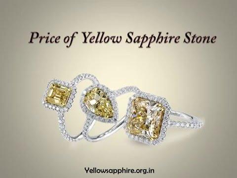 Price of Yellow Sapphire Gemstone