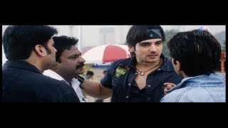 Zayed Khan beating the Gangster