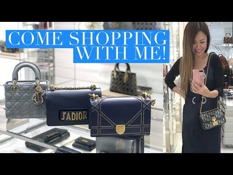 COME SHOPPING AT DIOR WITH ME! CHOOSING A BIRTHDAY BAG VLOG   Mel in Melbourne