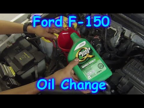 How to change the oil on a Ford F150 04-08
