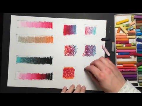 10 Oil Pastel Techniques
