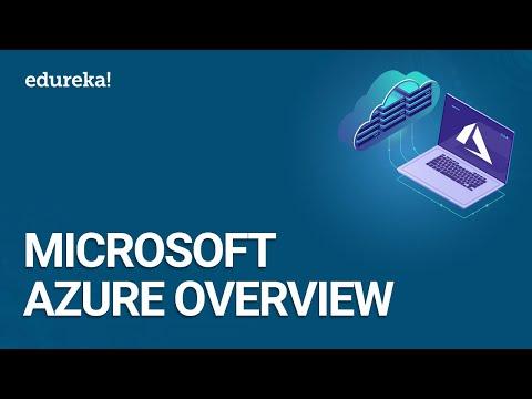 Microsoft Azure Overview | Cloud Computing Tutorial with Azure | Azure Training | Edureka