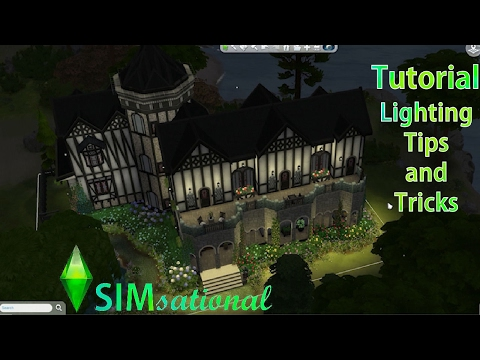 SIMsational Tutorial: Lighting Tips and Tricks