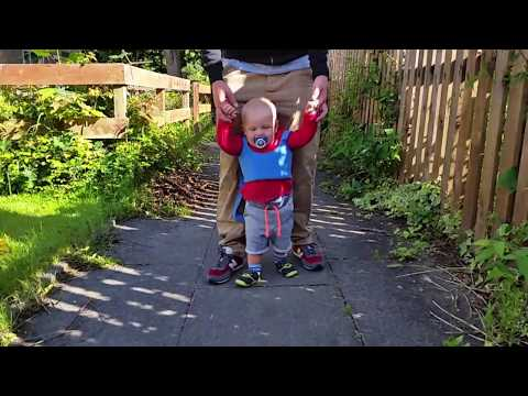 Oliwier walking practice Baby Toddler Walking Assistant