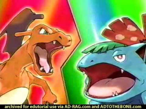 Pokemon Fire Red and Leaf Green USA Commercial