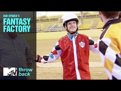 'Ostrich Race' Official Throwback Clip | Rob Dyrdek's Fantasy Factory | MTV