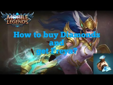 Mobile Legends - How to buy Diamonds and recharge Freya?