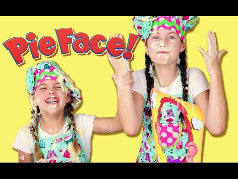 How to make COOKIES AND CREAM CAKE - plus PIE FACE game - chocolate ripple - Kids baking