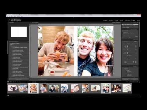 Creating Photo Collages in Lightroom Part 1: 4x6 with 2 Photos