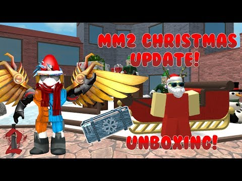 MM2 CHRISTMAS UNBOXING (part 1/3)
