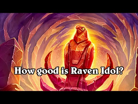 hearthstone how good is raven idol? League of explorers expansion