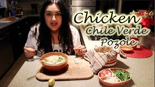 Chicken Pozole Verde How To