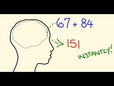 Mental Math Tricks - Addition and Subtraction in your head!