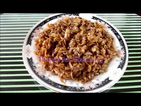 Adobong Puso Ng Saging