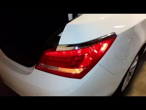 2010-2016 Buick LaCrosse Sedan - Testing Tail Lights After Changing Bulbs - Turn Signal & Reverse