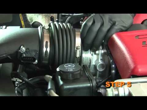 How-to Install a C6 Corvette K&N Air Intake System