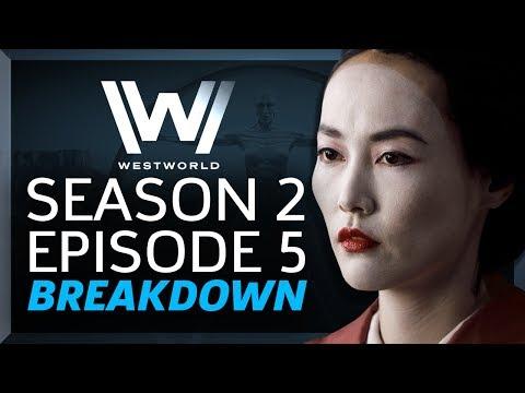 Westworld Breakdown: Season 2 Episode 5 Akane No Mai