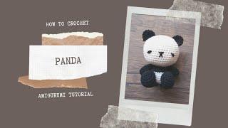 Pandabär Amigurumi Häkelanleitung Panda | Etsy | 180x320