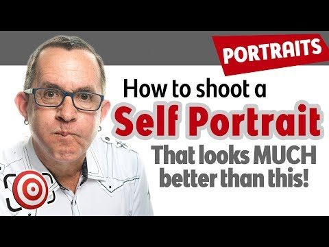 Self Portrait Tutorial.  How I shot my profile photo for social media and my photography website.