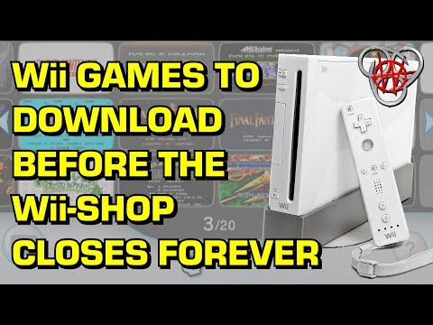 Wii Games to Download Before the Wii-Shop Shuts Down FOREVER! | Nefarious Wes