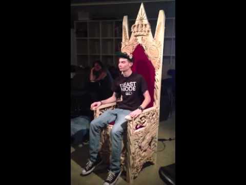So I Built a Throne...